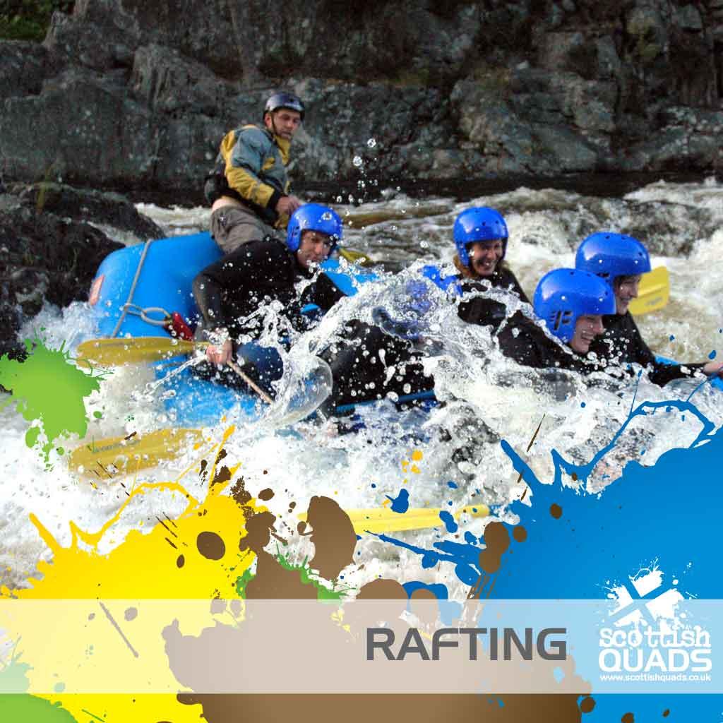 Tay River Rafting Perthshire