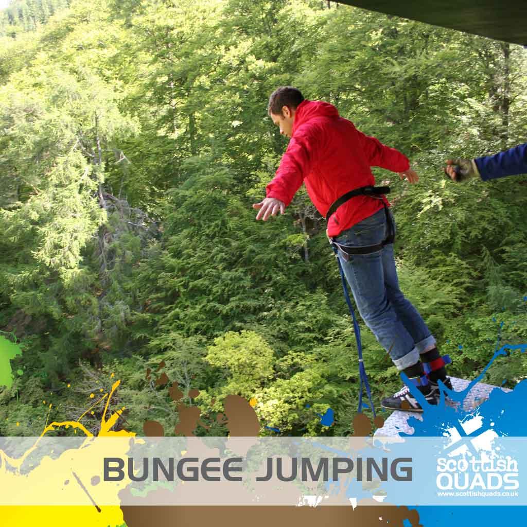 Scottish Stag Weekend Bungee Jump