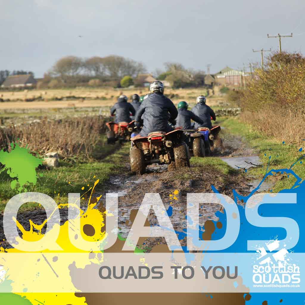 We bring quad bikes to you