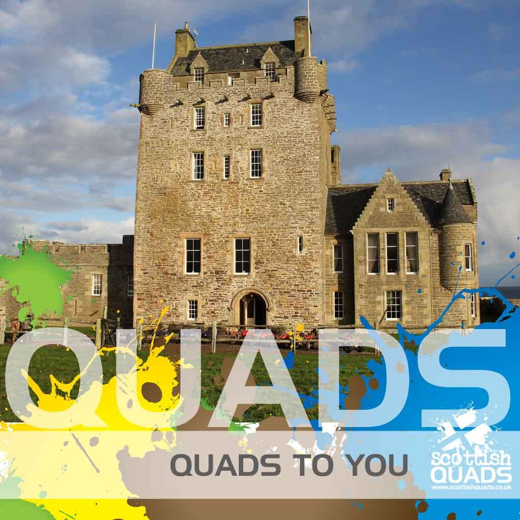 Quads Ackergill Castle
