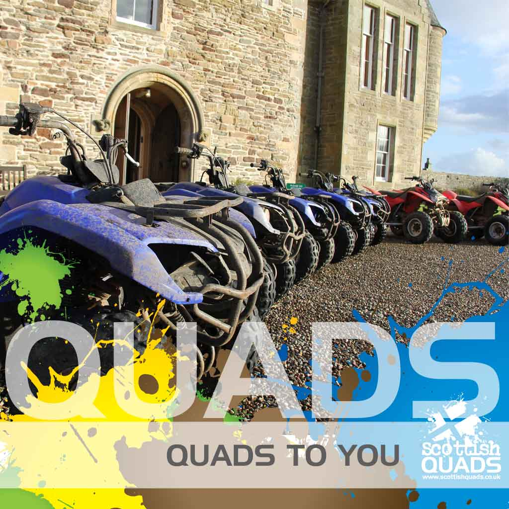 Incentive quad bike trek